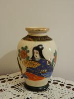 Régi Japán Gésa váza