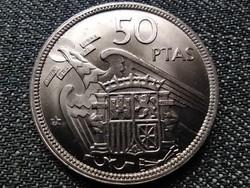 Extra szép Spanyolország Francisco Franco (1936-1975) 50 Peseta 1957 1958 (id37596)