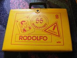 Rodolfo bűvész táska + 55 mutatvány füzet