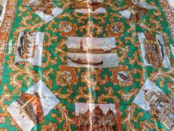 Vintage selyemkendő - Velence