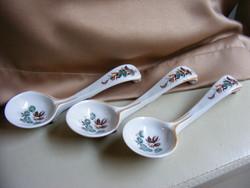 Orosz porcelán szószos kanál