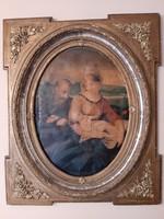 Antik képkeret 1850 ből 73 x 88 cm