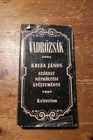 Kriza János: Vadrózsák - Székely népköltési gyűjtemény (1975)