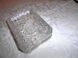 Antik üveg  doboz