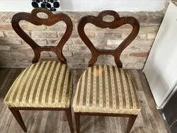 2db.biedermeier stílusú szék