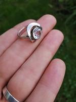 Csinos régi ezüst gyűrű