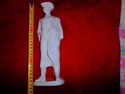 Aquincumi nagy méretű porcelán csikós   figura 27 cm -HIBÁTLAN-Kímélt