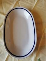 3 db Alföldi porcelán ovális kocsonyás tányér