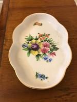 Herendi porcelán virágmintás tálka,sérülésmentes állapotban.