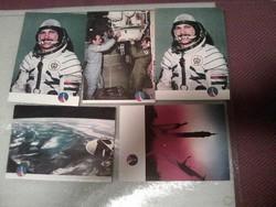 Repülés és űrhajózás képeslapok+könyv