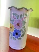 Régi kézi készítésű váza
