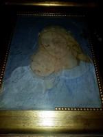 MCP szignós festmény