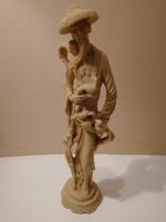 Hatalmas antik távol-keleti szobor - 1 forintról, garanciával!