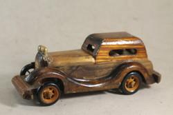 Antik fa autó makett 441