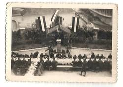 Vilgháborús foró magyar katonák ebéd fénykép hátoldalt ceruzával : eger 1942 jun 8 KIÁRUSÍTÁS
