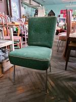Retro szék, fémlábú