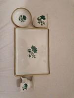 4 db augarten wien porcelán