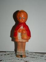PLASTOLUS Retro jelzett műanyag csipogós játék