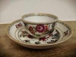 Antik bécsi csésze + csészealj