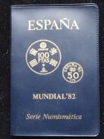 Spanyolország forgalmi sor 1982 VB