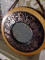 20 cm horoszkópos retro fali tükör