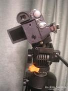U13 Profi Film,fotóállvány Porst-profi statív-ckm +bőr tok 360-fok fordítás ,gyors rögzítés