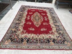 Iráni szarug 218x340 kézi csomózású gyapjú perzsa szőnyeg MM_321