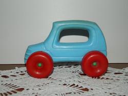 Retro műanyag játék autó