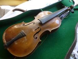 Stainer manufaktúra hegedű.