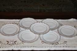 Zsolnay Stafír süteményes tányér 7 db