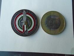 1986. Szekszárd. 12-dik Országos Tűzóltó verseny. Jelvény