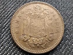 Spanyolország Francisco Franco (1936-1975) 1 Peseta 1953 (1963) (id36104)