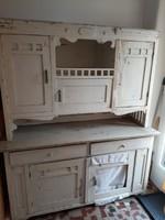 Antik  konyhabútor tálaló szekrény - felújítandó