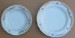 Nagy , korabeli biedermeier  porcelán tálak