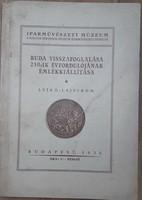 BUDA VISSZAFOGLALÁSA 250. ÉVFORDULÓJÁNAK EMLÉKKIÁLLÍTÁSA    1936
