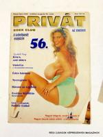1999 november  /  PRIVÁT  /  Régi ÚJSÁGOK KÉPREGÉNYEK MAGAZINOK Ssz.:  7537