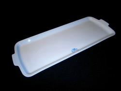 Régi Zsolnay porcelán süteményes tál, szendvicses tálca 41 x 16 cm