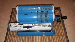 Retro ORIGINAL CALCOREX számológép,szorzógép...