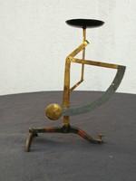 Levél mérleg, különleges, a lábrészen a gombbal állítható a pontosság! Ékszer vagy aprobb tárgyakhoz