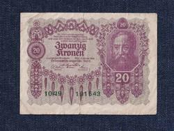 Ausztria 20 Korona 1922 (id10745)