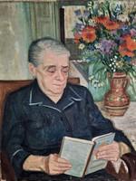 Fenyő Andor Endre olaj festménye