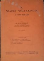 A NEMZET NAGY GONDJA -   A NEMI KÉRDÉS   1943