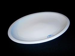 Régi Zsolnay porcelán süteményes vagy pecsenyés kínáló tál 37 x 26 cm