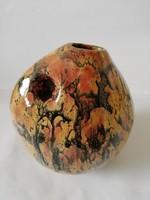 Luria Vilma? kerámia váza hibátlan, jelzett 15 cm