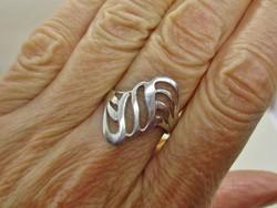 Különleges iparművész  ezüst gyűrű