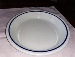 Alföldi porcelán menza csíkos főzelékes tányér