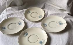 KPM porcelán csészealjak - 4 DB