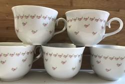 Babarózsás Alföldi csészék pótlásnak öt db egyben