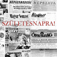 1973 november 3  /  NÉPSZABADSÁG  /  SZÜLETÉSNAPRA! RETRO, RÉGI EREDETI ÚJSÁG Ssz.:  10512