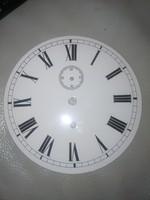 Számlap, óra, falióra számlap egy felhúzos perckivezetéses órához!. Zománc teliszánlap 1 súlyos óra